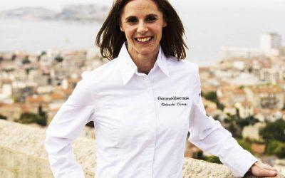 Blanquette de moules, pommes de terre pochées et légumes printaniers de Vanessa Robuschi (Question de goût, Marseille)