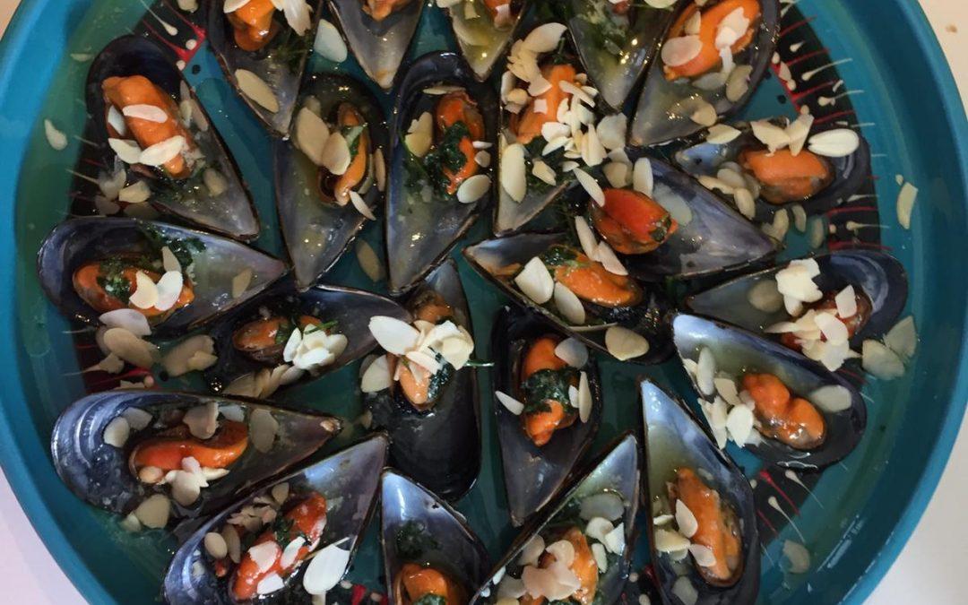 Moules à la Castan et frites ou chips maison de Lionel Levy (Alcyone*, InterContinental Hôtel Dieu, Marseille)