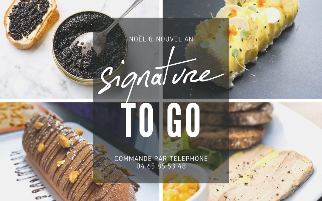 Noël 2020 ♥ Restaurant Signature par Coline Faulquier (Marseille)
