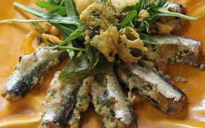 Sardines farcies à la brousse