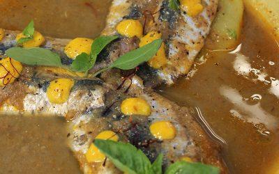 Sardines en bouillabaisse